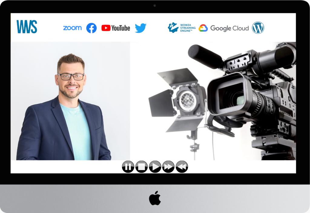 Live Webcast Player